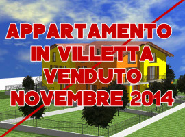 """VENDUTO - Appartamento Trilocale con Mansarda in Villetta """"G"""""""