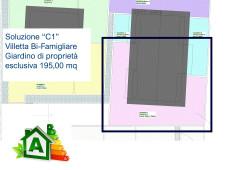 Villetta C sol.1 - Progetto in fase di definizione con consegna entro fine 2021